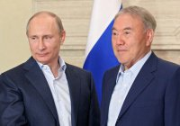 Ситуацию в Сирии обсудили Путин и Назарбаев