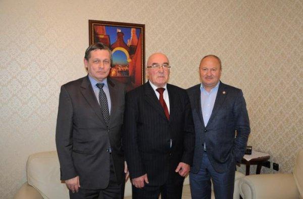 Полпредство Татарстана посетил Координатор Группы стратегического видения