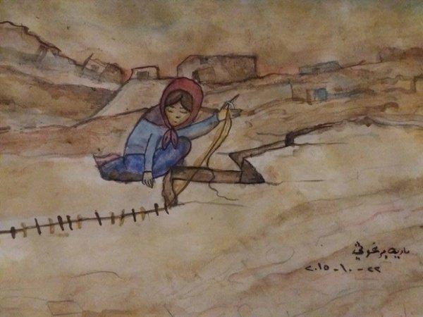 Самый известный рисунок девочки.