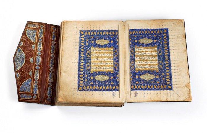 Тебриз, Иран. Коран 1516 г.