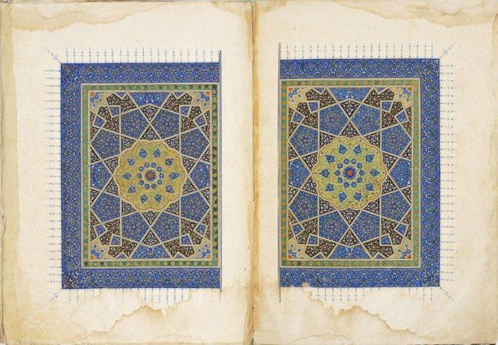 Коран. Провинция Герат, Афганистан. Период Тимуридов, 1434 г.
