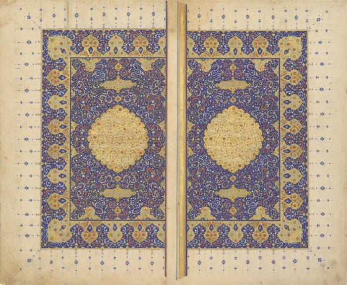 Коран Сефевидского периода. Иран, Шираз. 1550 г.