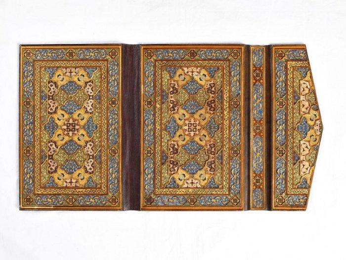 Обложка Корана. Сефевидский период. Афганистан. Приблизительно 1580 г.