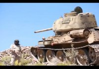 Легендарный танк Т-34 используется в Йемене