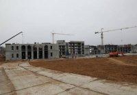 В Болгарской исламской академии почти завершено возведение несущих конструкций