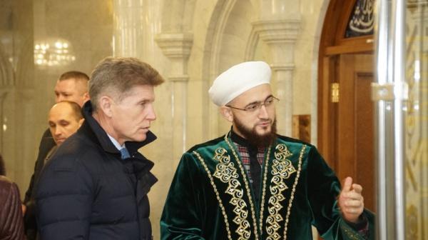 В мечети Кул Шариф.