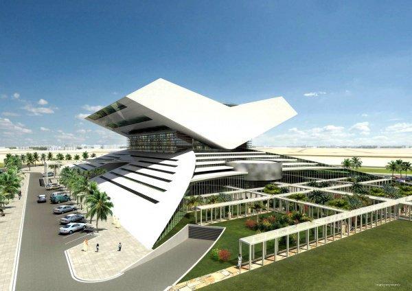 Проект крупнейшей в арабском мире библиотеки.