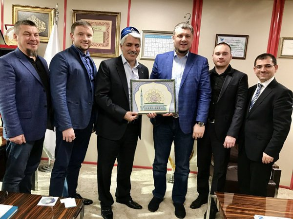 Российские и турецкие предприниматели-мусульмане.