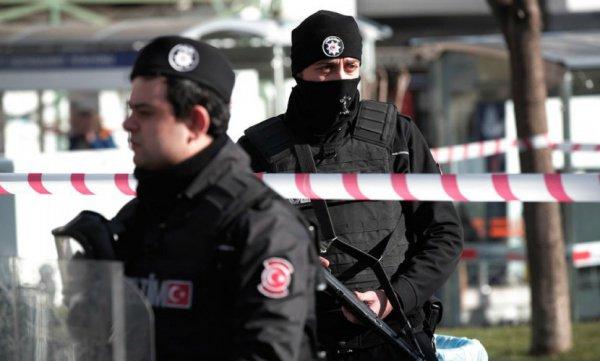 Антитеррористическая операция в Турции.