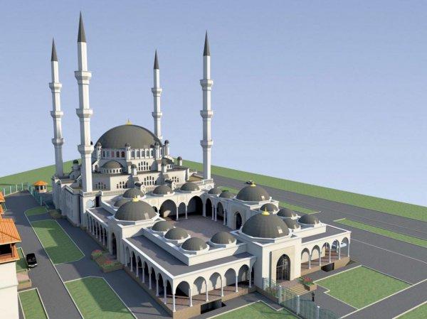 Соборная мечеть Крыма.