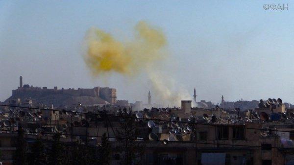 Минобороны доказало применение боевиками вСирии иприта