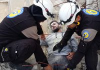 Сирийские спасатели извинились за участие в #MannequinChallenge (Видео)