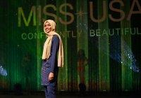 """Мусульманка в хиджабе впервые может стать """"Мисс США"""" (Фото)"""