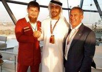 Кадыров и Минниханов встретились с наследным принцем ОАЭ (Фото)