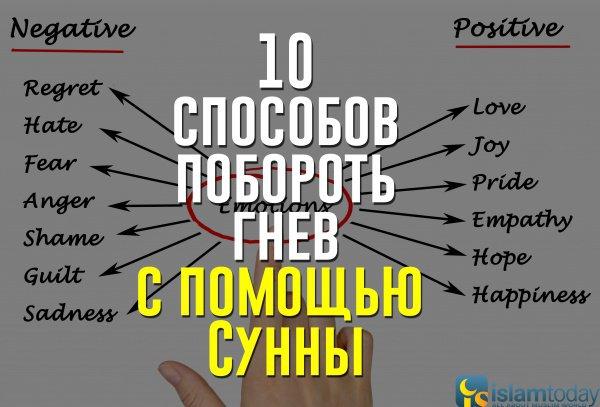 10 способов побороть гнев с помощью Сунны