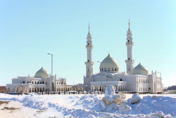 Белая мечеть, Болгар.