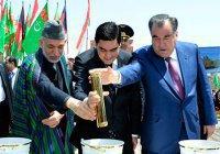 Железная дорога соединила Туркменистан, Афганистан и Таджикистан