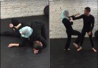 Видео с мусульманкой, рассказывающей, как защитить себя от нападения, стало хитом в социальных сетях