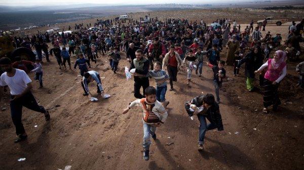 Ситуация с беженцами из Сирии