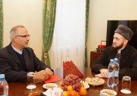 Муфтий РТ встретился с и.о. Генерального консула Ирана в Казани