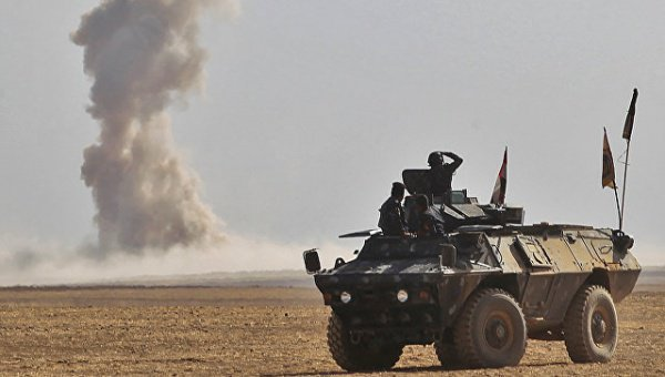Террористы ИГ захватили Мосул в 2014 году