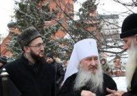 Муфтий РТ принял участие в открытии памятника митрополиту РПСЦ Андриану