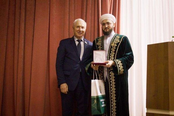 Камилю хазрату Самигуллину вручена медаль