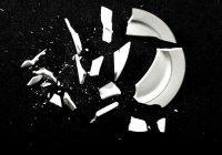 Разбитая посуда - к счастью?