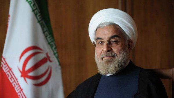 Глава Иранской республики Хасан Роухани
