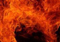 В Башкирии сгорела старинная мечеть