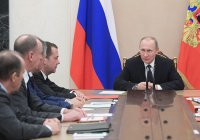 Путин обсудил с Совбезом ситуацию в Пальмире и Алеппо
