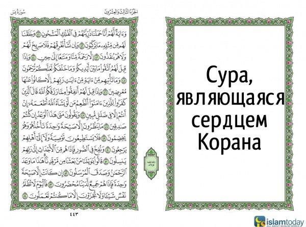 Сура - сердце Корана