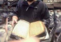 Пожар в японской мечети уничтожил все, но не тронул Священный Коран