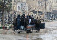 Восточный Алеппо покинули около 2 тысяч боевиков и членов их семей