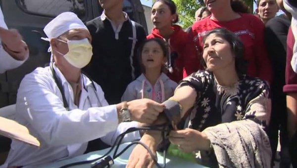 Русские мед. работники оказали помощь неменее 1,1 тысячи сирийцев вблизи Алеппо