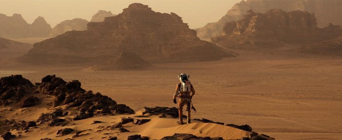 "Кадр из фильма ""Марсианин"". Space.com"