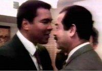 Уникальная встреча Мухаммеда Али и Саддама Хуссейна, когда были освобождены 15 заложников