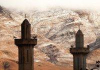 В Сахаре впервые за 40 лет выпал снег