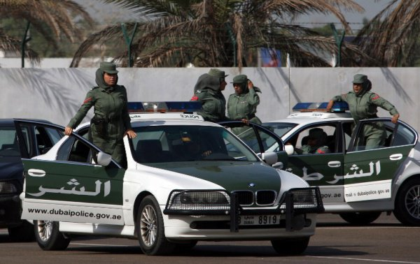 Полиция Дубая.