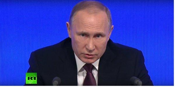 В. Путин: