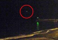 Интернет-пользователи обсуждают загадочную вспышку в небе на месте крушения Ту-154