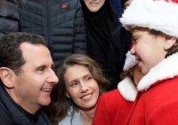 Башар Асад поздравил с Рождеством воспитанников приюта при монастыре