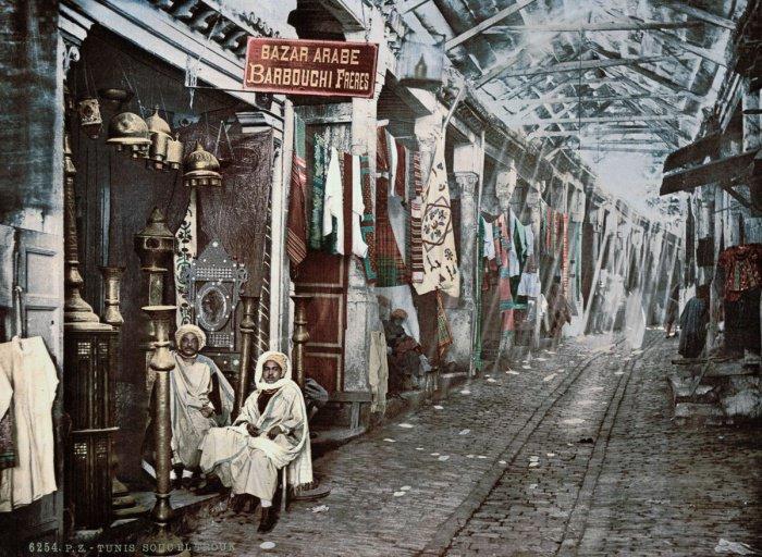 Рынок в Тунисе.
