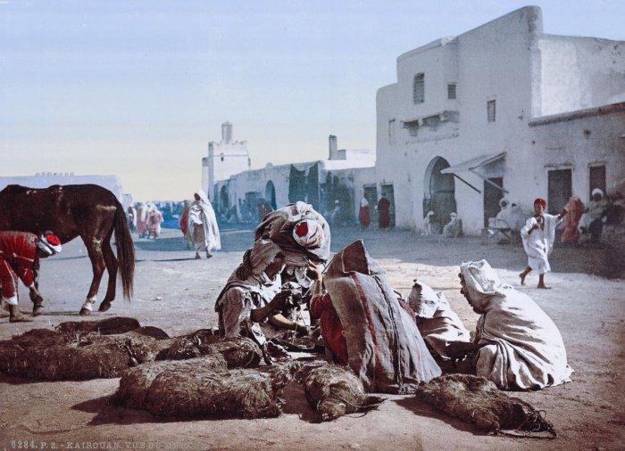 Рынок в Кайруане