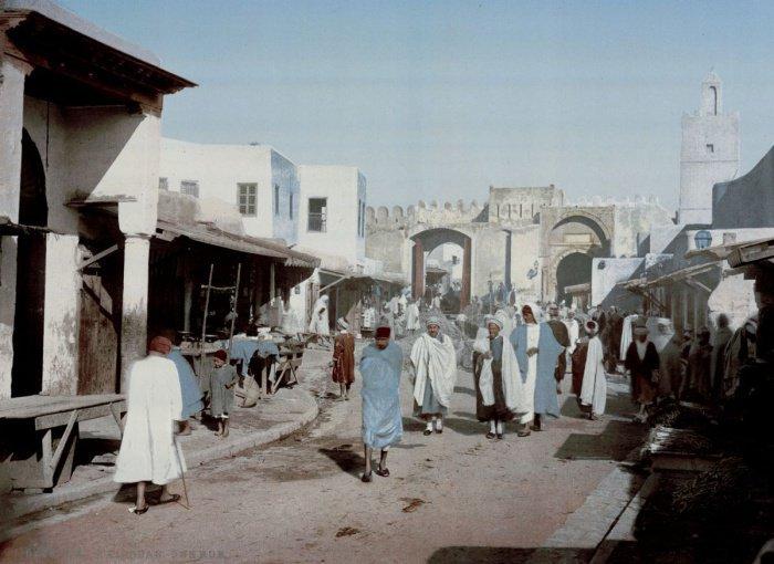 33 уникальных цветных фото Туниса, сделанных почти 120 лет назад