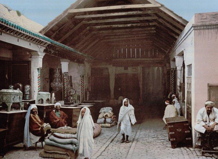 Тунисский базар