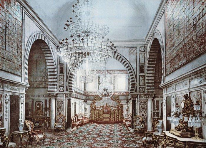 Тронная зала дворца Бардо