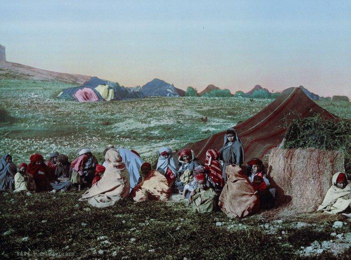 Лагерь кочевников