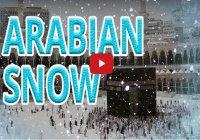 Вот что бывает, когда в Саудовской Аравии выпадает снег