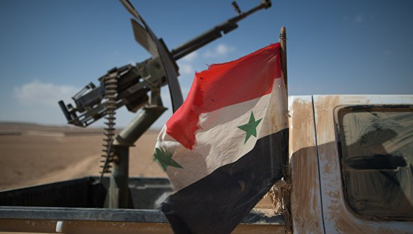Перемирие в Сирии.
